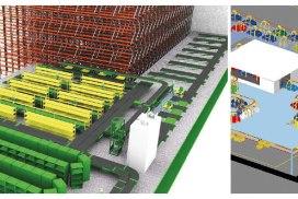 Virtual Factory, modelo virtual de procesos productivos y logísticos