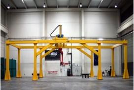 MEGAROB – Plataforma robotizada para tareas de fabricación de alta precisión de piezas de gran tamaño