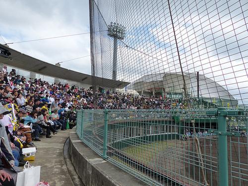 【2/14練習試合】2014阪神タイガース春季キャンプ@宜野座村野球場