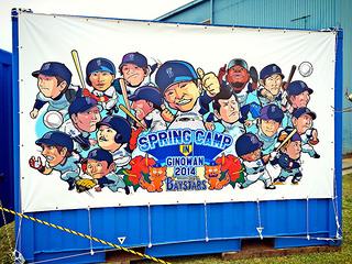 【レポート】2014横浜DeNAベイスターズ春季キャンプ@宜野湾 2/4・5