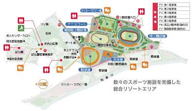 【駐車場】上毛新聞敷島球場(群馬県立敷島公園野球場)周辺の駐車場ガイド