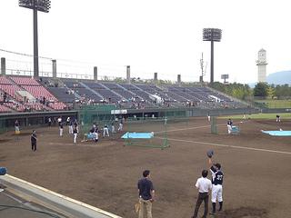 【座席表】山日YBS球場(山梨県小瀬スポーツ公園野球場)