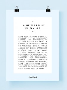 l_affiche_les_r_gles_de_la_vie_est_belle_en_famille_30x40_cm_2_