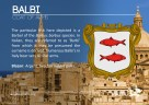 The BALBI coat of arms