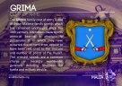 The GRIMA coat of arms