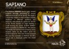 The SAPIANO coat of arms