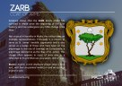 The ZARB coat of arms