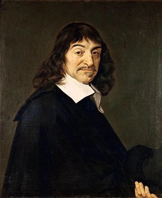 "Rene Descartes portrait ""Cogito Ergo Sum"""
