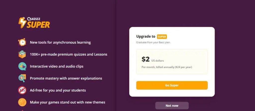 Review of Quizizz Educational App 3
