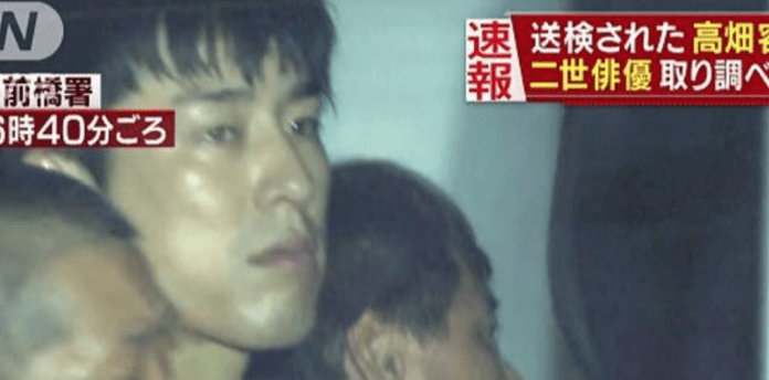 Actor Yuta Takahata arrested in rape crime