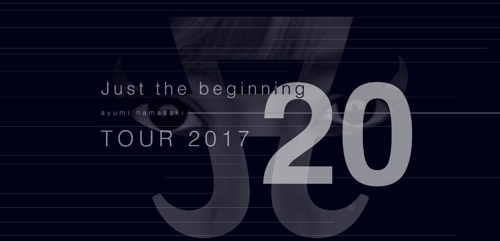 """Ayumi Hamasaki announces new tour """"Just the beginning -20- TOUR 2017"""""""