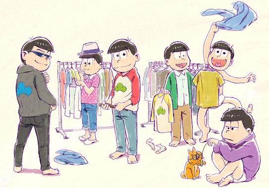 Announcement of Osomatsu-san season 2