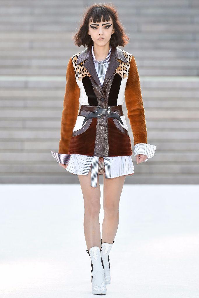Rila Fukushima Opens Louis Vuitton's Ode to Japan