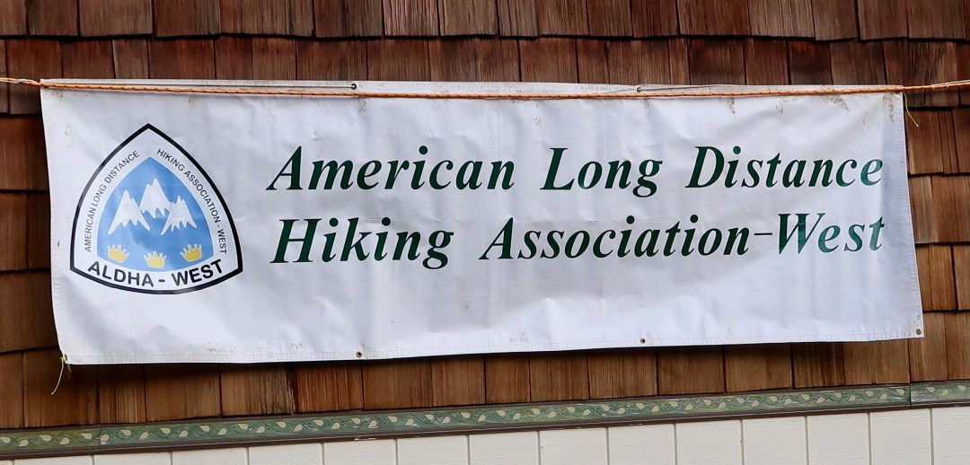 Banner for the ALDHA-West Ruck outside the event
