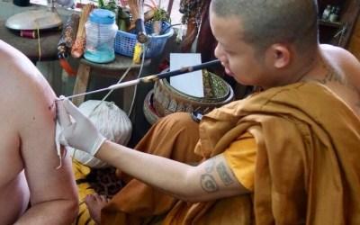 Getting a Sak Yant Tattoo in Chang Mai
