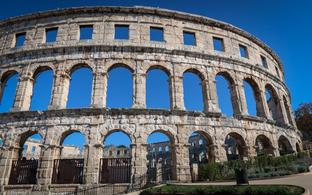 A Visit to Pula's Ancient Roman Ampitheater