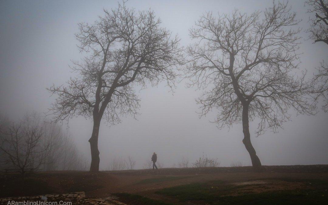 Foggy Smoggy Days in Sarajevo, Bosnia and Herzegovina