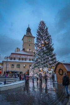 The Brașov Christmas Market.