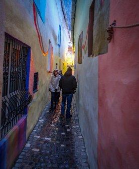 Rope Street: the skinniest street in Europe.