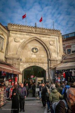 Entrance to the Grand Bazaar