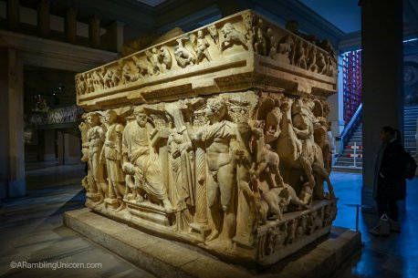 Another elaborate sarcophagus