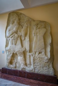 Moulding of rock relief (8th Century B.C.)