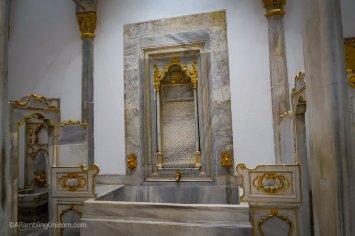 Topkapı Palace Harem - the royal bath