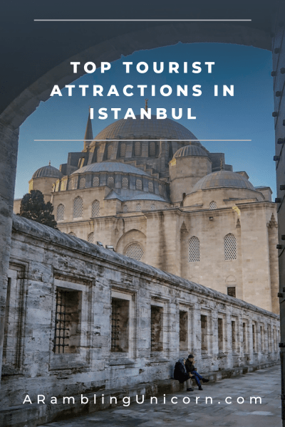 Straddling the continents of both Asia and Europe, Istanbul is a place where east meets west and where modern and ancient cultures intersect. The mosques, museums and palaces in this city are so amazing that they really can't be missed. Disover our 10 favorite tourist sights at AramblingUnicorn.com.