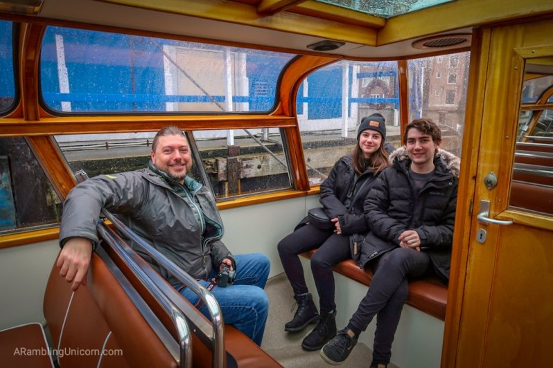 Amsterdam blog: Daniel, Katjia and Matthew are ready to cruise the canals!