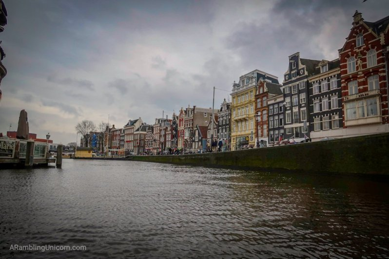 Amsterdam blog: On the canal boat cruise.