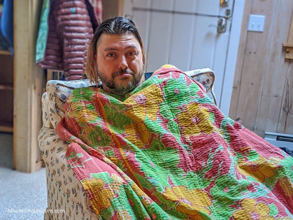 COVID-19 Diary: Daniel has the sick