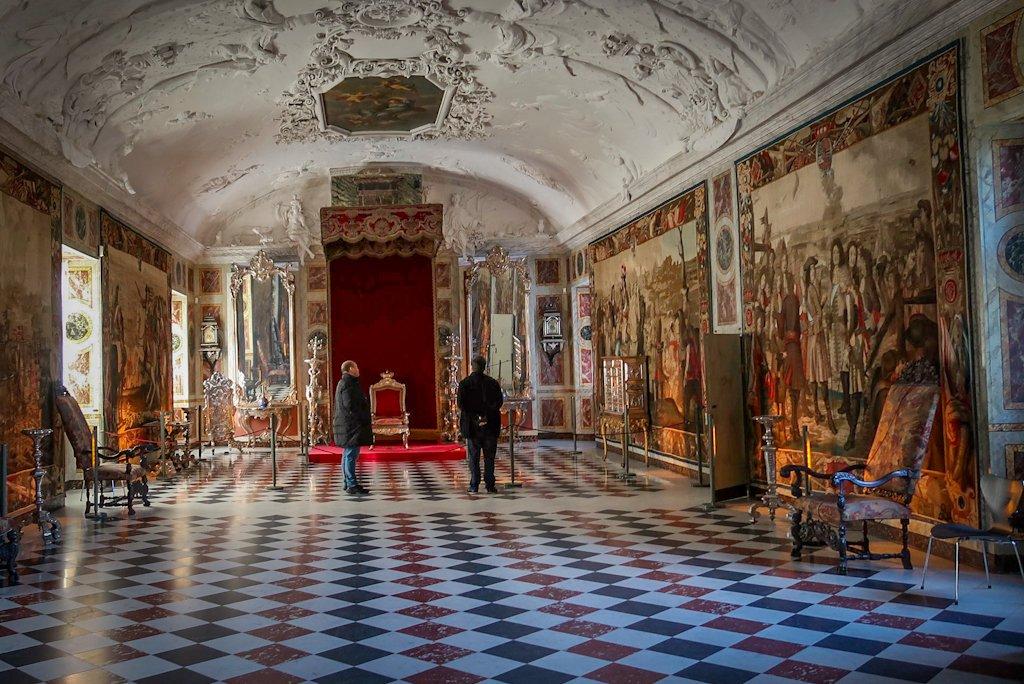 Copenhagen Blog: The Long Hall in Rosenborg Castle