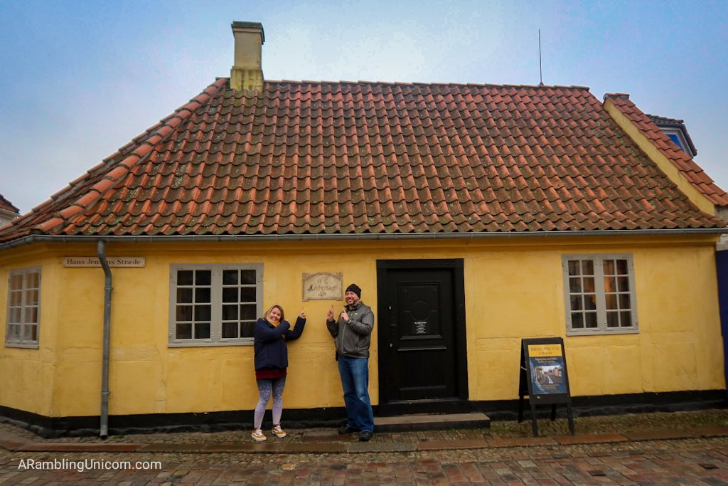 Odense blog: Tetris and Daniel would like to inform you that this is the birthplace of Hans Christian Andersen