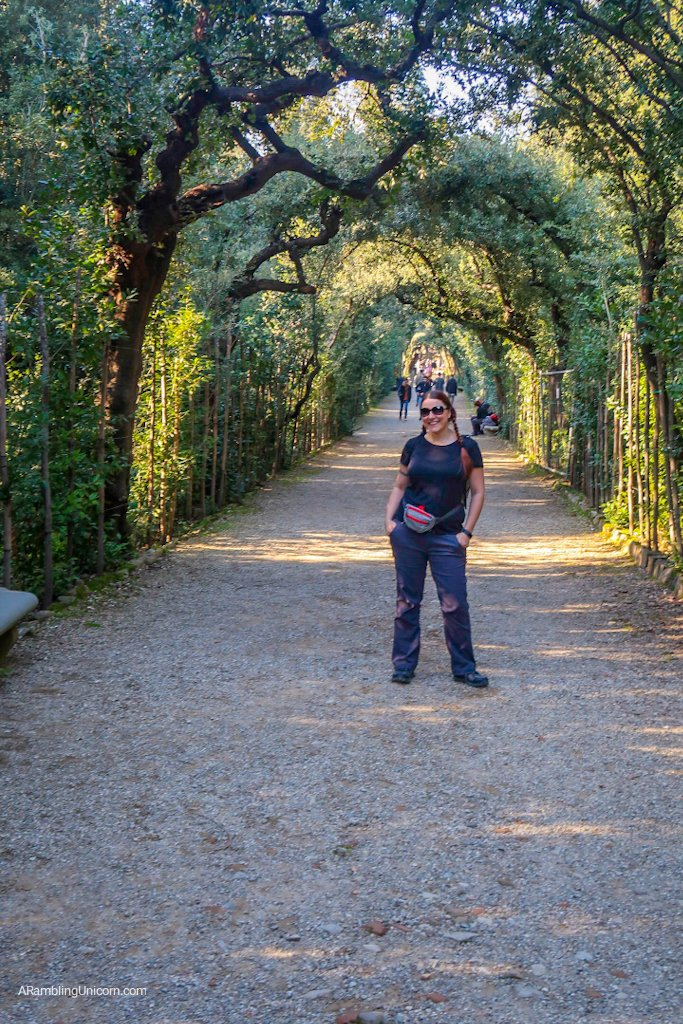 Just hanging out in the Boboli Gardens