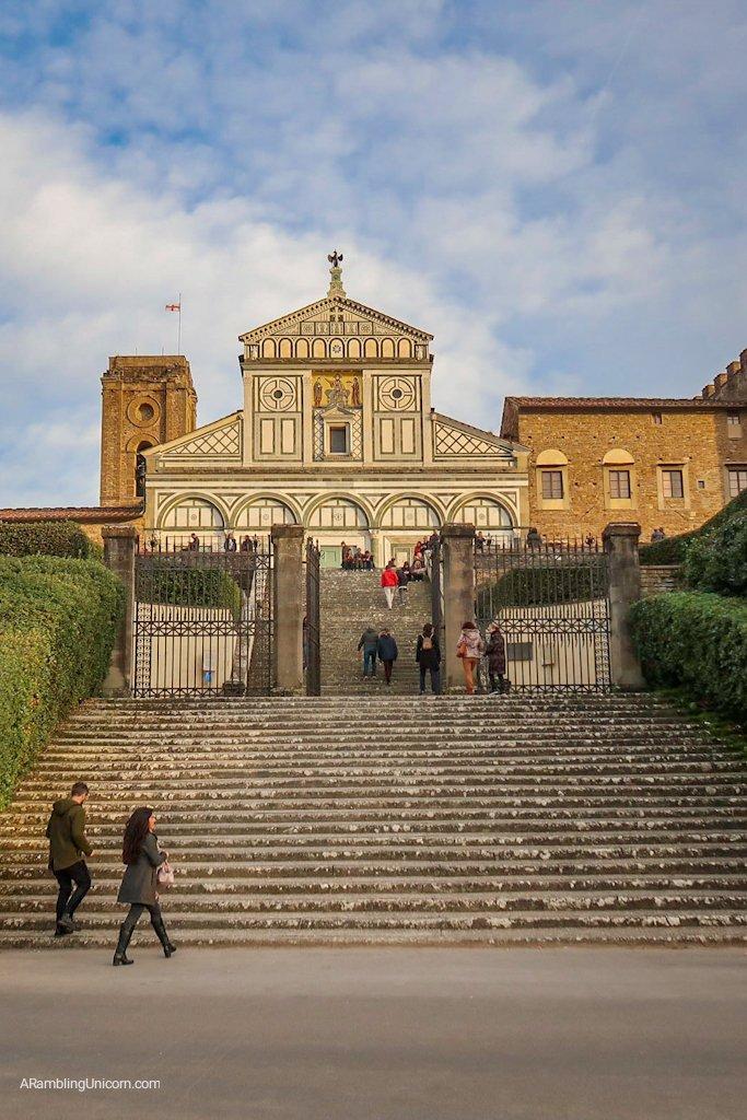 Florence 4 day itinerary: Basilica San Miniato al Monte