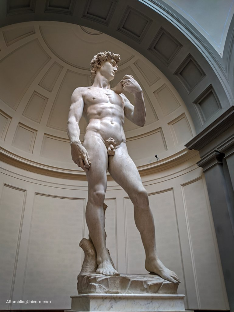 Florence 4 day itinerary: Behold, the Statue of David!