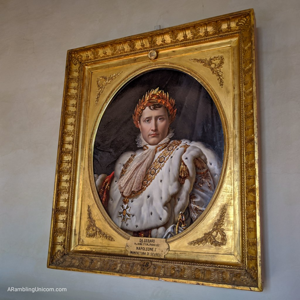 Florence 4 day itinerary: Portrait of Napoleon Bonaparte