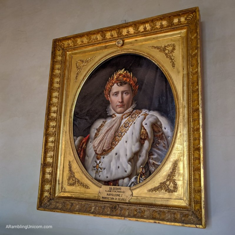 Florence 4 day itinerary: Portrait of Napoleon Bonaparte