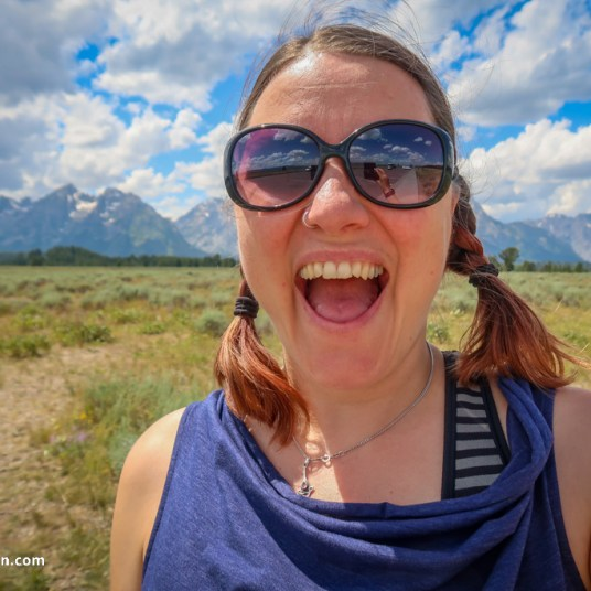 We are in Grand Tetons National Park!