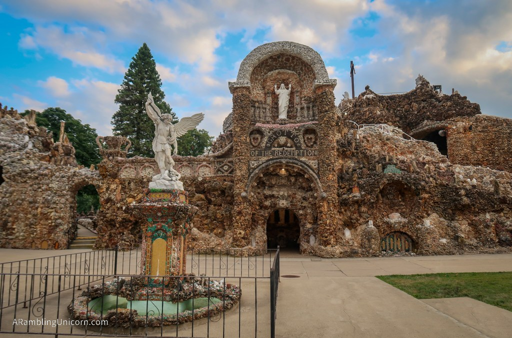 Shrine of the Grotto of the Redemption