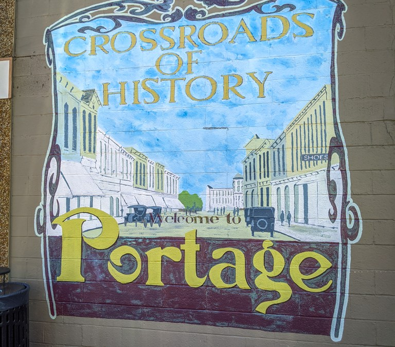 Stuck in Portage: The Crossroads of History