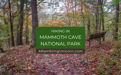 Hiking in Mammoth Cave National Park