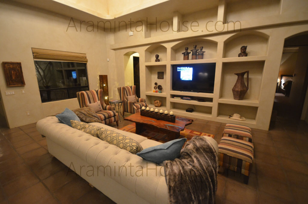 Araminta House Family Room
