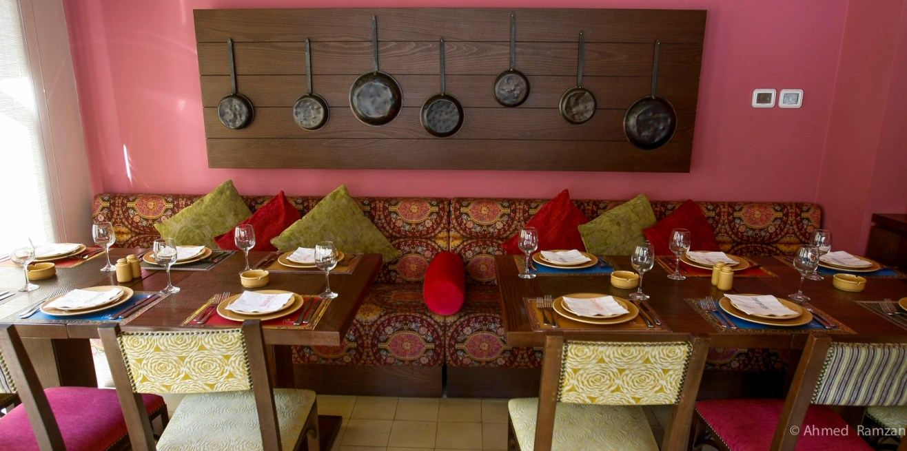 The restaurant is the first Armenian restaurant in the UAE located at Downtown Dubai, Dubai.