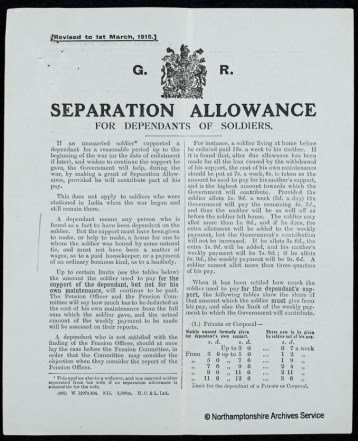 Separation Allowance