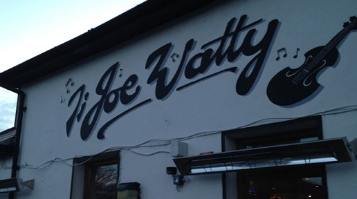 The famous Joe Watty's. Photo: Arkell Weygandt