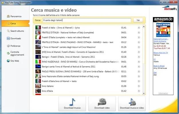 scaricare gratis musica mp3
