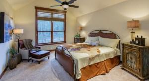 Alders Custom Home Bedroom
