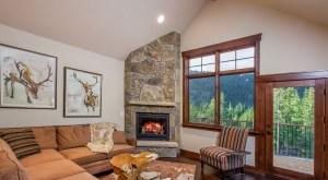 Alders Custom Home Living Room
