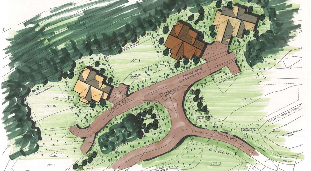 Warriors Preserve Land Planning Custom Homes